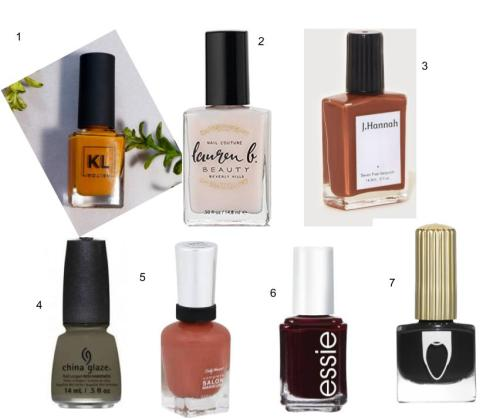 ww nail polishes
