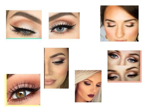 Makeup looks kendra